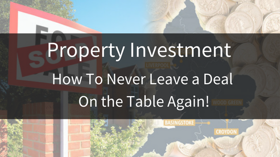Property Investment Training | How to Get the Investor!